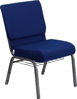Flash Furniture FDCH02214SVNB24BASGG Hercules Series Fabric Metal Frame Accent Chair