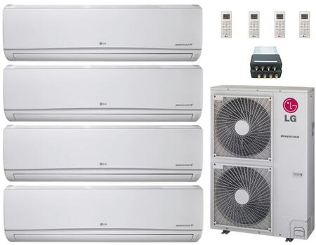 LG 704641 Quad-Zone Mini Split Air Conditioners