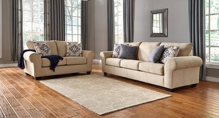Milo Italia MI6370SLPARC Madalynn Living Room Sets
