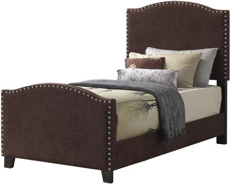 Glory Furniture G2572TBUP G2570 Series  Twin Size Panel Bed