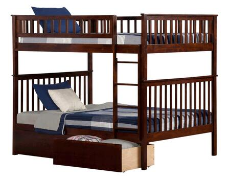 Atlantic Furniture AB56544  Full Size Bunk Bed