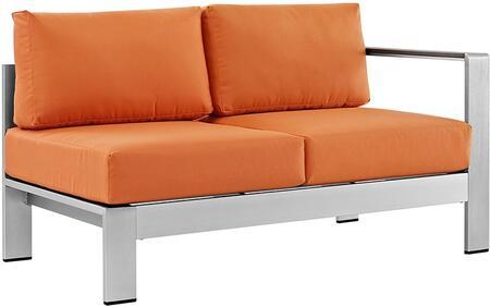 Modway EEI2262SLVORA  Patio Love Seat