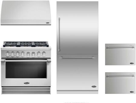 DCS 719469 Professional Kitchen Appliance Packages