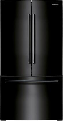"Samsung RF260BEAE 36"" French Door Refrigerator with 26 cu. ft. Capacity, Twin Cooling Plus, High-Efficiency LED Lighting, CoolSelect Pantry, and Auto Pull-out Freezer Drawer:"