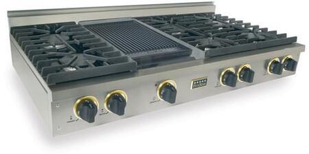 """FiveStar TPN0477S 48"""" Gas Sealed Burner Style Cooktop"""