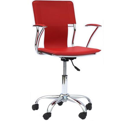 """Modway EEI198RED 22"""" Adjustable Contemporary Office Chair"""