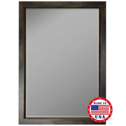 Hitchcock Butterfield 81310X 2nd Look Espresso Walnut Profile Edge Framed Wall Mirror