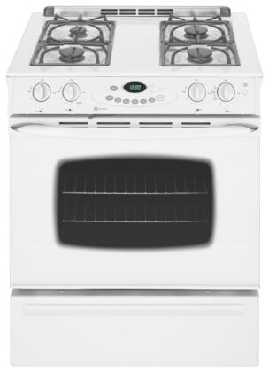 Maytag MGS5752BDW  Slide-in Gas Range with Sealed Burner Cooktop Storage 4.5 cu. ft. Primary Oven Capacity |Appliances Connection