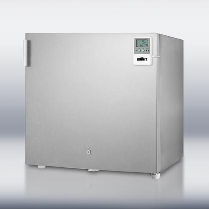 Summit FS20LCSS7MED Med Series  Freezer with 1.6 cu. ft. Capacity in Stainless Steel