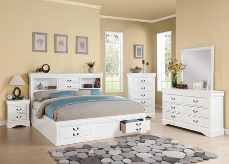 Acme Furniture 24484CK5PC Louis Philippe III Bedroom Sets