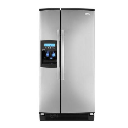 Whirlpool GS2KVAXVS  Side by Side Refrigerator with 22 cu. ft. Capacity in Stainless Steel