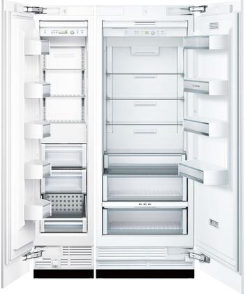 Bosch Benchmark 723704 Side By Side Refrigerators Appliances