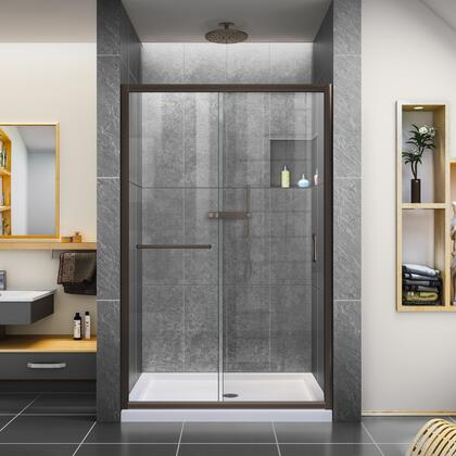 DreamLine Infinity Z Shower Door 48 ORB