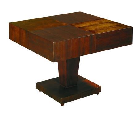 Allan Copley Designs 331002 Sarasota Series Contemporary Square End Table