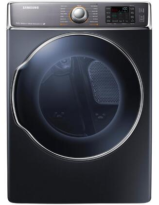 "Samsung Appliance DV56H9100GG 30"" 9.5 cu. ft. Gas Dryer, in Onyx"