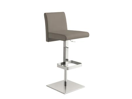 Casabianca TC2009TBAR Vittoria Series Residential Leather Upholstered Bar Stool