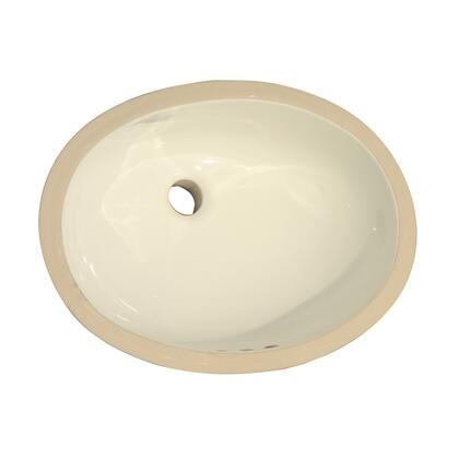 "Barclay 4732 22 1/2"" x 16 1/2"" Rosa 570 Undercounter Basin in"