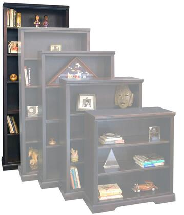 Legends Furniture BW6884DNC Brentwood Series Wood 5 Shelves Bookcase