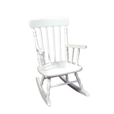 Gift Mark 1410W  Armless  Wood Frame No Rocking Chair