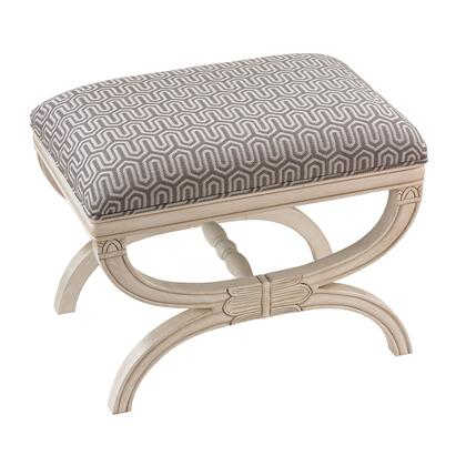 Sterling 139009 Stage Series Accent Armless Wood Fabric Bench