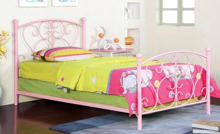 Furniture of America CM7706PK Alice Series  Twin Size Bed