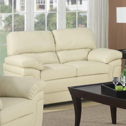 Coaster 503072 Sawyer Series Bonded Leather  with Wood Frame Loveseat