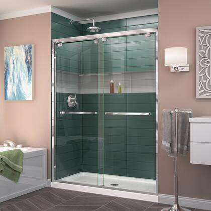 DreamLine Encore Shower Door RS50 01 B CenterDrain