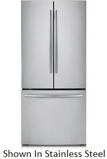 Samsung Appliance RL225NCTASP  Bottom Freezer Refrigerator with 21.6 cu. ft. Capacity in Stainless Platinum