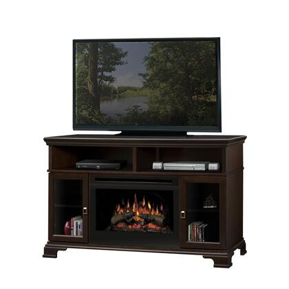 "Dimplex GDS25-E1055X Brookings Collection Media Console Supports up to a 52"" Flat Screen TV, 25"" Firebox: Espresso"
