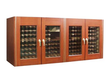 "Vinotemp VINO400CREDGLW 88"" Wine Cooler"