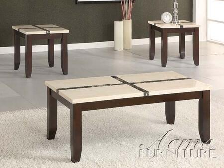"Acme Furniture 16558 48"" Contemporary Living Room Table Set"