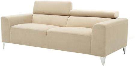 Glory Furniture G334S  Stationary Suede Sofa
