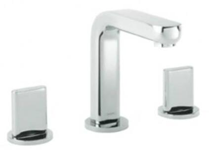 Hansgrohe 31063 Metris S Widespread Bathroom Faucet with Full Handles: