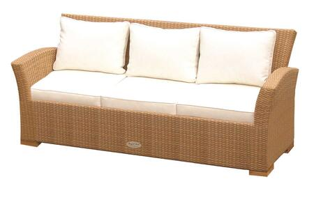 "Royal Teak Collection CHA3X 72"" Charleston Sofa in with Cushions"
