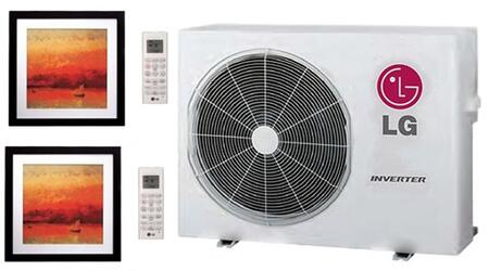 LG 704088 Dual-Zone Mini Split Air Conditioners