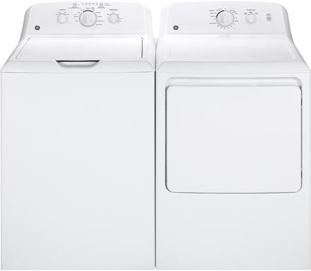 GE GE2PCTL27WEKIT6 Washer and Dryer Combos