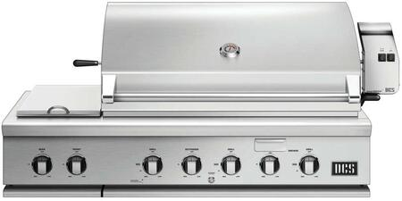 "DCS BH148RSN 48"" Built-In Grill, in Stainless Steel"
