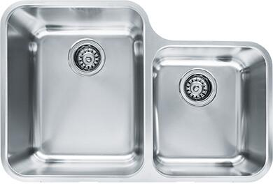 Franke LAX160 Largo Series Undermount Double Bowl Sink in Stainless Steel