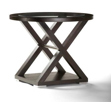 Allan Copley Designs 341002 Halifax Series Contemporary Rectangular End Table