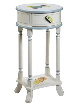 Gail's Accents 20003ET Shoreline Series Casual Round End Table