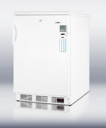 "Summit FF7LBIMEDDT 24"" Medical Series Compact Refrigerator with 5.5 cu. ft. Capacity in White"