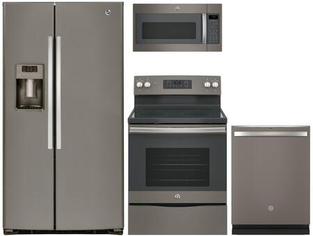 GE 742440 Slate Kitchen Appliance Packages
