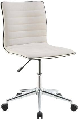 """Coaster 800726 21"""" Adjustable Transitional Office Chair"""
