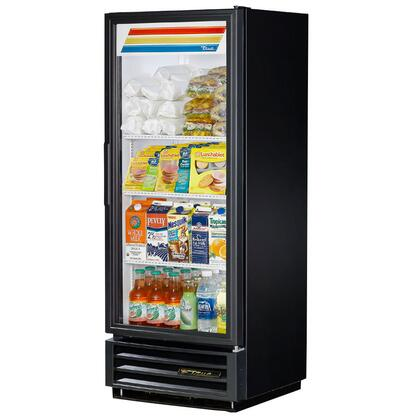 True GDM-12 12 Cu. Ft. Glass Door Refrigerator Merchandiser with LED Lighting, and Thermal Insulated Glass Swing-Doors