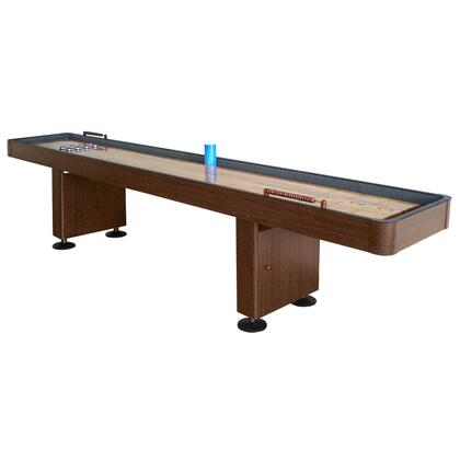 Carmelli NG12 12' Shuffleboard Table Featuring a Durable MDF Cabinet with a