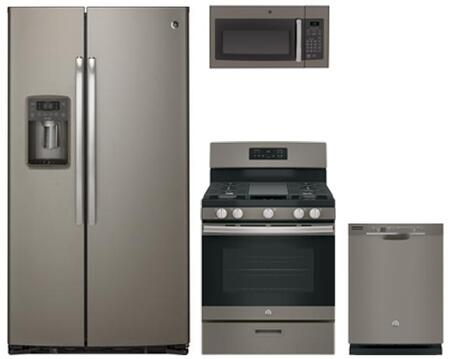 GE Profile 765976 Slate Kitchen Appliance Packages