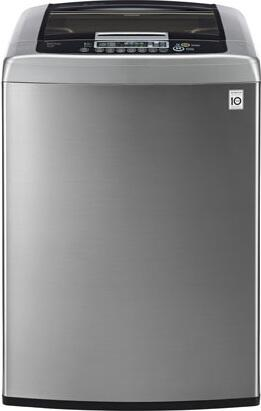LG WT1201C 4.5 cu. ft. High Efficiency Top Load Washer With WaveForce Technology, Coldwash, Directdrive Motor, SmartDiagnosis, and TrueBalance Anti-Vibration System