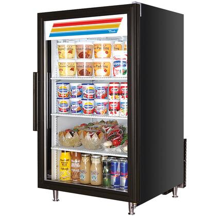 True GDM-7 Counter-Top Refrigerator Merchandiser with 7 Cu. Ft. Capacity, LED Lighting, and Thermal Insulated Glass Swing-Door