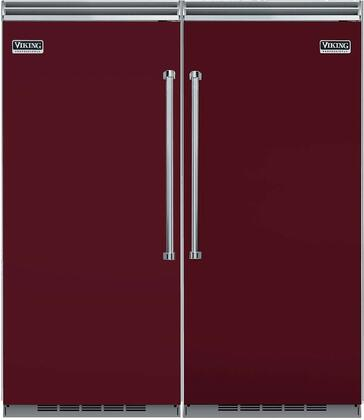 Viking 739659 5 Side-By-Side Refrigerators