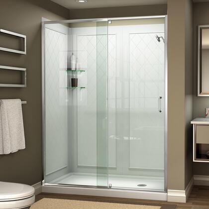 DreamLine Flex Shower Door Complete Kit 01